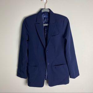 Thyme Maternity Blue Blazer
